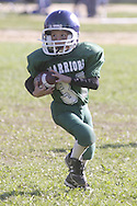 Middletown, NY - Middletown plays Minisink Valley in a Division 1 Orange County Youth Football League game at Watts Park on Oct. 5, 2008.