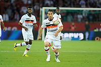 FOOTBALL - FRENCH CHAMPIONSHIP 2012/2013 - L1 - PARIS SG v FC LORIENT - 11/08/2012 - PHOTO JEAN MARIE HERVIO / REGAMEDIA / DPPI - LUCAS MAREQUE (FCL)
