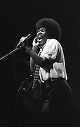 Joan Armatrading with eyes wide open singing bigger