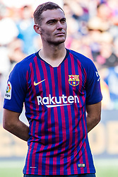 August 15, 2018 - Thomas Vermaelen from Holland during the Joan Gamper trophy game between FC Barcelona and CA Boca Juniors in Camp Nou Stadium at Barcelona, on 15 of August of 2018, Spain. (Credit Image: © AFP7 via ZUMA Wire)