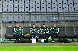 Jesualdo Ferreira, head coach during practice session of Panathinaikos F.C. one day before UEFA Europa league match vs NK Maribor, on September 19, 2012 in Stadium Ljudski vrt, Maribor, Slovenia. (Photo By Vid Ponikvar / Sportida)