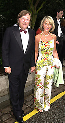 MR DAVID MELLOR and PENNY, VISCOUNTESS COBHAM,<br />  at a party in London on 5th July 2000.OGB 101<br /> © Desmond O'Neill Features:- 020 8971 9600<br />    10 Victoria Mews, London.  SW18 3PY <br /> www.donfeatures.com   photos@donfeatures.com<br /> MINIMUM REPRODUCTION FEE AS AGREED.<br /> PHOTOGRAPH BY DOMINIC O'NEILL