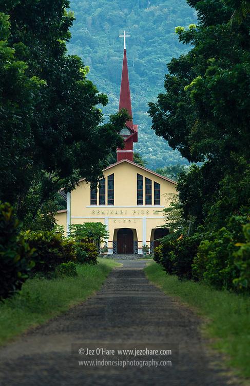 Sekolah Seminari Pius XII Kisol, Kec. Tanah Rata, Borong, Kabupaten Manggarai Timur, Flores, Nusa Tenggara Timur, Indonesia.