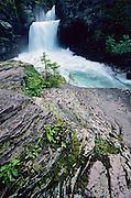 St Mary Falls Glacier National Park, Montana