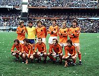 TEAM GROUP<br />HOLLAND WORLD CUP 1978 <br />ARGENTINA V HOLLAND (3-1) 25/06/1978 FINAL<br />WORLD CUP 1978<br />PHOTO ROGER PARKER FOTOSPORTS INTERNATIONAL