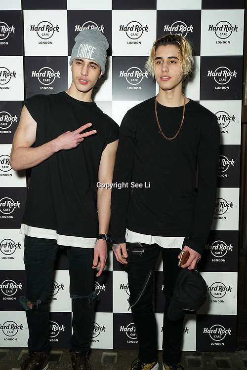 Hard Rock Cafe London, England, UK. 4th Dec 2017. Pretty Boy Calmer Arrivals at Fight For Life Charity Event of Christmas festivities and entertainment for children with cancer.