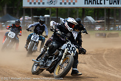 Fist City Flat Track at the Tennessee Motorcycles and Music Revival at Loretta Lynn's Ranch. Hurricane Mills, TN, USA. Friday, May 21, 2021. Photography ©2021 Michael Lichter.