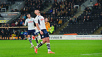 Preston North End's Patrick Bauer reacts after he failed to find the goal with his shot<br /> <br /> Photographer Chris Vaughan/CameraSport<br /> <br /> The EFL Sky Bet Championship - Hull City v Preston North End - Wednesday 27th November 2019 - KCOM Stadium - Hull<br /> <br /> World Copyright © 2019 CameraSport. All rights reserved. 43 Linden Ave. Countesthorpe. Leicester. England. LE8 5PG - Tel: +44 (0) 116 277 4147 - admin@camerasport.com - www.camerasport.com