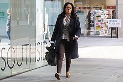 London, UK. 6 November, 2019. Claudia Webbe, Councillor in the London Borough of Islington, arrives at Labour Party HQ for an NEC meeting to discuss important selection issues, including whether to lift Chris Williamson's suspension and whether Keith Vaz and Stephen Hepburn should be reinstated for the general election on December 12th. Credit: Mark Kerrison/Alamy Live News