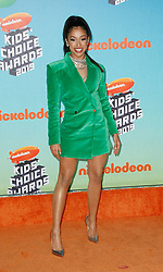 March 23, 2019 - Los Angeles, CA, USA - LOS ANGELES, CA - MARCH 23: Liza Koshy attends Nickelodeon's 2019 Kids' Choice Awards at Galen Center on March 23, 2019 in Los Angeles, California. Photo: CraSH for imageSPACE (Credit Image: © Imagespace via ZUMA Wire)