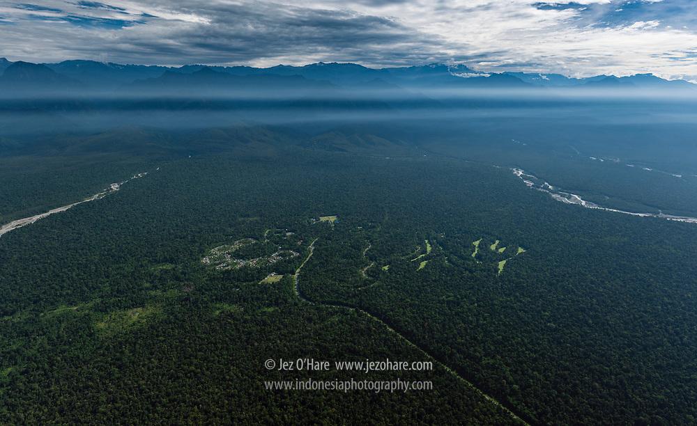 Kuala Kencana, PT Freeport's lowland town, Mimika, Papua, Indonesia.