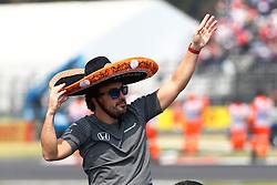October 29, 2017 - Mexico-City, Mexico - Motorsports: FIA Formula One World Championship 2017, Grand Prix of Mexico, .#14 Fernando Alonso (ESP, McLaren Honda) (Credit Image: © Hoch Zwei via ZUMA Wire)