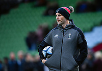 Rugby Union - 2019 / 2020 Gallagher Premiership - Harlequins vs. Gloucester<br /> <br /> Harlequins' Head of Rugby Paul Gustard during the pre match warm up, at The Stoop.<br /> <br /> COLORSPORT/ASHLEY WESTERN