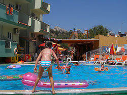 Swimming pool & holiday hotel Marmaris; Turkey