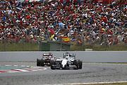 May 11, 2014 - Barcelona, Spanien - Motorsports: <br /> <br /> F1 2014 - Spanish Grand Prix - Hamilton Wins<br /> <br />  FIA Formula One World Championship 2014, Grand Prix of Spain, .#19 Felipe Massa (BRA, Williams Martini Racing)<br /> ©Exclusivepix
