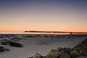 USA, California, San Diego - The Pacific coast at sunset