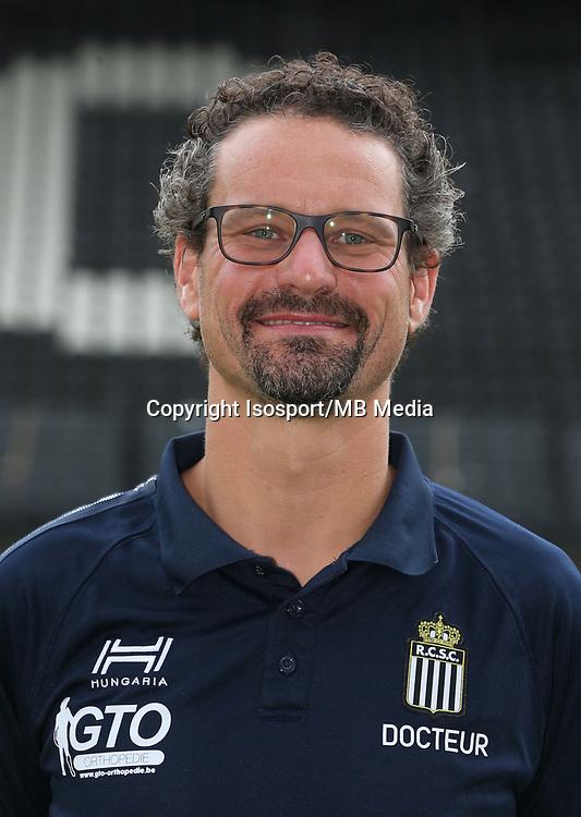 20170715 - Charleroi, Belgium / Photoshoot Sporting Charleroi 2017 - 2018 / <br /> Frederic BORLEE<br /> Picture Vincent Van Doornick / Isosport