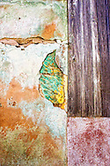 Weathered wall in Cardenas, Matanzas, Cuba.