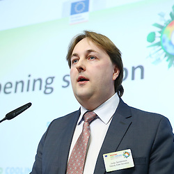 20150226 - Brussels - Belgium - 26 February 2015 -  Heating and cooling in the European energy  transition conference - Opening Ceremony , Facing the challenges, moving forward with the EU's energy transition. - Jurijs Spiridonovs - Deputy State secretary, Ministry of Economics of Latvia    © EC/CE - Patrick Mascart