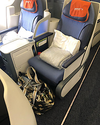 "Claudia Effenberg releases a photo on Instagram with the following caption: ""Danke Aeroflot f\u00fcr das geile Upgrade! Werbung da Markenerkennung\ud83d\udc96\ud83d\udc4dDankbar\ud83d\ude07\ud83e\udd2a\ud83d\ude0d"". Photo Credit: Instagram *** No USA Distribution *** For Editorial Use Only *** Not to be Published in Books or Photo Books ***  Please note: Fees charged by the agency are for the agency's services only, and do not, nor are they intended to, convey to the user any ownership of Copyright or License in the material. The agency does not claim any ownership including but not limited to Copyright or License in the attached material. By publishing this material you expressly agree to indemnify and to hold the agency and its directors, shareholders and employees harmless from any loss, claims, damages, demands, expenses (including legal fees), or any causes of action or allegation against the agency arising out of or connected in any way with publication of the material."