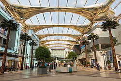 Interior of The Avenues shopping mall in Kuwait City, Kuwait, Middle East