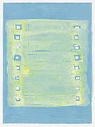 acrylic on paper, 38 x 28 cm