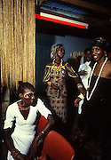 Fela Kuti and Wives at the Shrine - Lagos