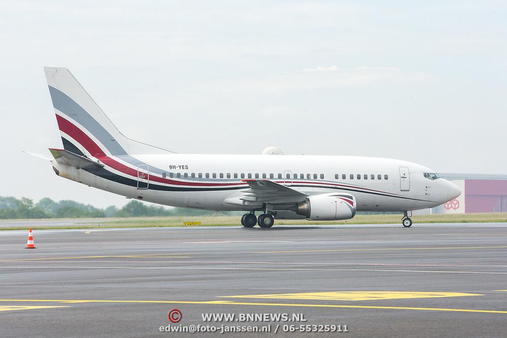 LUX/Luxembug/20180523 - Staatbezoek Luxemburg 2018 dag 1, aankomst op het vliegveld