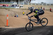 #21 (REYNOLDS Lauren) AUS at Round 3 of the 2020 UCI BMX Supercross World Cup in Bathurst, Australia.