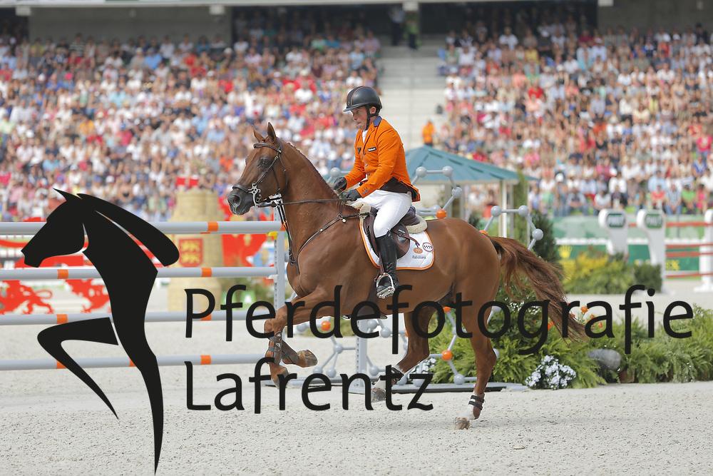 Schröder, Gerco, Glock´s London N.O.P.<br /> Normandie - WEG 2014<br /> Springen - Finale III<br /> © www.sportfotos-lafrentz.de/ Stefan Lafrentz