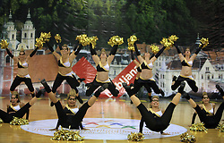 TSV Rudow Dance Deluxe, Germany at European Cheerleading Championship 2008, on July 5, 2008, in Arena Tivoli, Ljubljana, Slovenia. (Photo by Vid Ponikvar / Sportal Images).