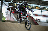 #34 (TESAR Cole) USA at Round 6 of the 2019 UCI BMX Supercross World Cup in Saint-Quentin-En-Yvelines, France