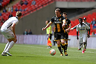 Morpeth Town Stephen Anderson during the FA Vase match between Hereford FC  and Morpeth Town at Wembley Stadium, London, England on 22 May 2016. Photo by Dennis Goodwin.