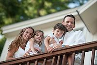 Laurie Bennett and Messina family portrait session.  Karen Bobotas Photographer