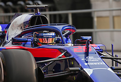 February 26, 2018 - Barcelona, Catalonia, Spain - the Toro Rosso of Brendon Hartley during the tests at the Barcelona-Catalunya Circuit, on 27th February 2018 in Barcelona, Spain. (Credit Image: © Joan Valls/NurPhoto via ZUMA Press)