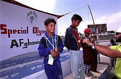 SPECIAL OLYMPICS AFGHANISTAN.KABUL 24 August 2005.Ghazi Stadium