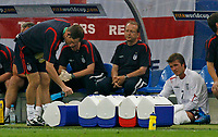 Photo: Glyn Thomas.<br />England v Portugal. Quarter Finals, FIFA World Cup 2006. 01/07/2006.<br /> England's David Beckham (R) after being substituted.