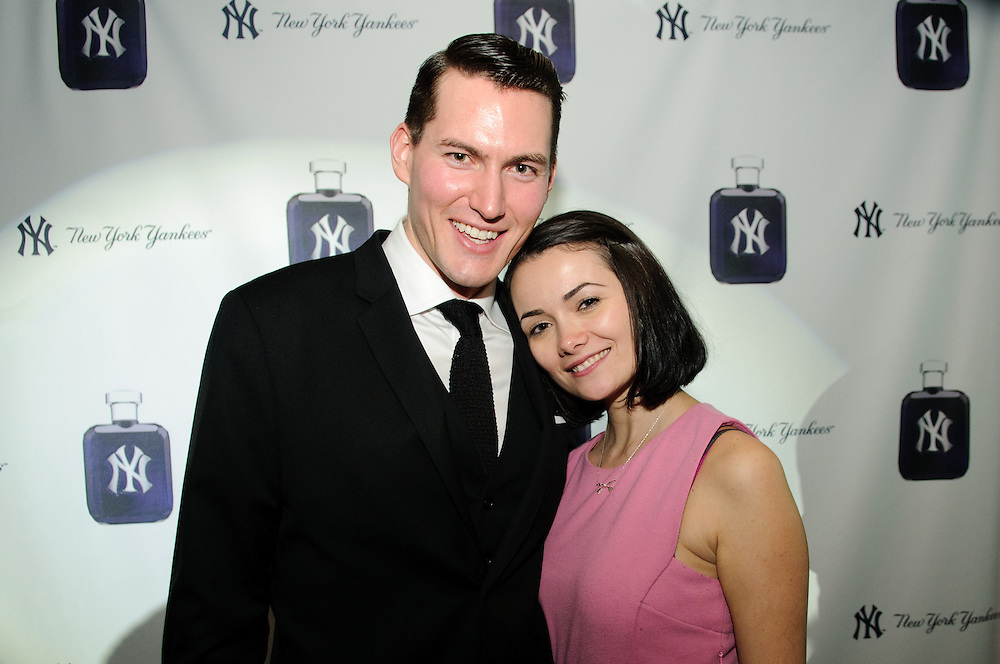 New York, New York: Launch party for the new New York Yankee's mens and womens fragrances. Hosted at Catch restaurant. Photos by Tiffany L. Clark