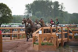 Chester Weber, (USA), Boris W, Boy W, Para, Splash, Uniek - Driving Marathon - Alltech FEI World Equestrian Games™ 2014 - Normandy, France.<br /> © Hippo Foto Team - Dirk Caremans<br /> 06/09/14