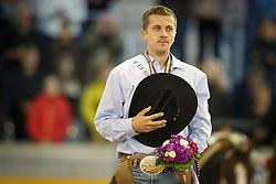 Ernst Elias, (GER)<br /> Reining individual<br /> European Championships - Aachen 2015<br /> © Hippo Foto - Dirk Caremans<br /> 16/08/15