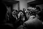 Laura Boldrini durante la presentazione della consultazione pubblica online sull'Unione europea nella sede della Stampa Estera, Roma 9 febbraio 2016. Christian Mantuano / OneShot<br /> <br /> Laura Boldrini during the presentation of the European Union public consultation, Rome Febraury 9, 2016. Christian Mantuano / OneShot