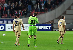 02.11.2011, Amsterdam Arena. Amsterdam, NED, UEFA Champions League, Vorrunde, Ajax Amsterdam (NED) vs Dinamo Zagreb (CRO), im Bild Ivan Kelava// during Ajax Amsterdam (NED) vs Dinamo Zagreb (CRO), at Amsterdam Arena, Amsterdam, NED, 2011-11-02. EXPA Pictures © 2011, PhotoCredit: EXPA/ nph/ PIXSELL/ Marko Lukunic       ****** out of GER / CRO  / BEL ******