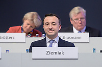 22 NOV 2019, LEIPZIG/GERMANY:<br /> Paul Ziemiak, CDU Generalsekretaer, CDU Bundesparteitag, CCL Leipzig<br /> IMAGE: 20191122-01-094<br /> KEYWORDS: Parteitag, party congress