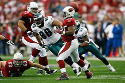 18 Jan 2009: Arizona Cardinals running back J.J. Arrington #28 throws the ball back to the quarterback in the backfield during the NFC Championship game against the Philadelphia Eagles on January 18th, 2009. The Cardinals won 32-25 at University of Phoenix Stadium in Glendale, Arizona. (Photo by Brian Garfinkel)
