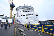 Independence of The Seas. Progress pictures. 11th Dec 2007. Aker Yards, Turku, Finland.