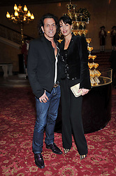 STEPHEN & ASSIA WEBSTER at a party to celebrate 300 years of Tatler magazine held at Lancaster House, London on 14th October 2009.
