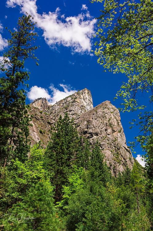 The Three Brothers, Yosemite National Park, California USA