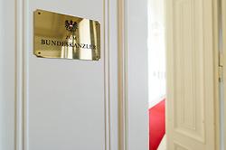 THEMENBILD - Das österreichische Bundeskanzleramt. Aufgenommen am 10.05.2016 in Wien, Österreich // The Austrian Federal Chancellery in Vienna. Austria on 2016/05/10. EXPA Pictures © 2016, PhotoCredit: EXPA/ Michael Gruber