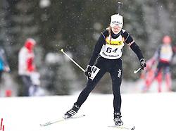 11.12.2010, Biathlonzentrum, Obertilliach, AUT, Biathlon Austriacup, Sprint Lady, im Bild Janka Pastuchova (SVK, #64). EXPA Pictures © 2010, PhotoCredit: EXPA/ J. Groder