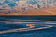 Alkaline springs near Salt Creek in Death Valley National Park, California